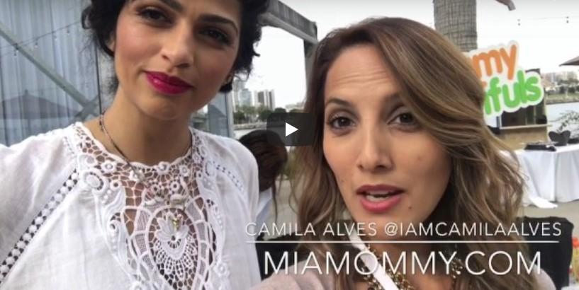 Camila Alves  y sus consejos de maternidad