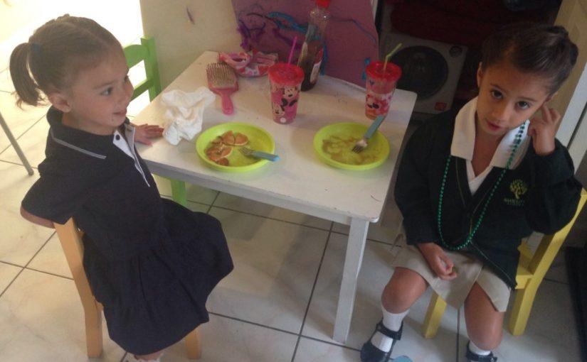 ¡Alimentos saludables, niños saludables!