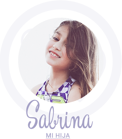 Sabrina, hija de Paula Zelaya