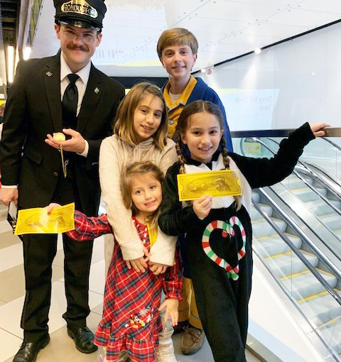Polar Express en Brightline