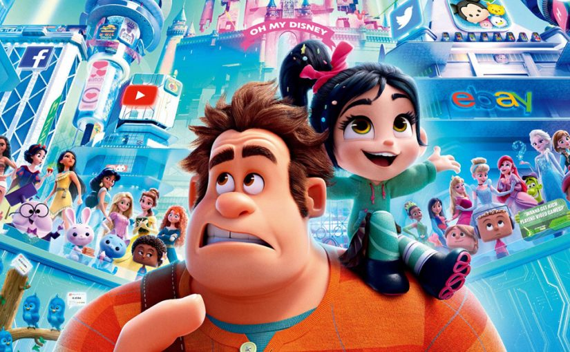 Ralph Breaks The Internet  * Película recomendada *