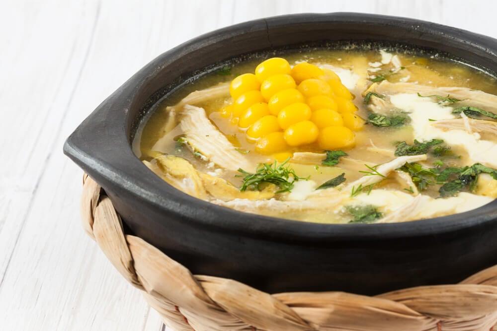 receta de ajiaco colombiano