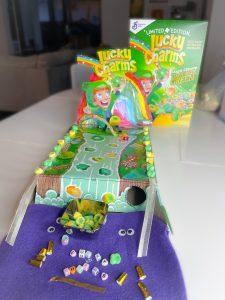 Leprichaun Traps con lucky charms