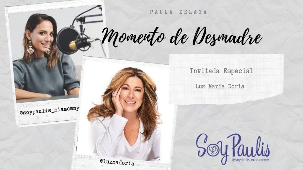 Luz Maria Doria en Momento de Desmadre