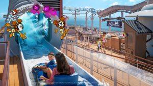 Disney aqua mouse